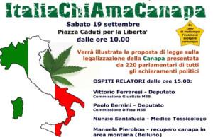 evento Italia chiama canapa a Imola